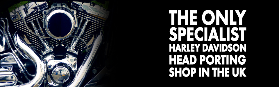 The only specialist harley davidson head porting shop in the UK
